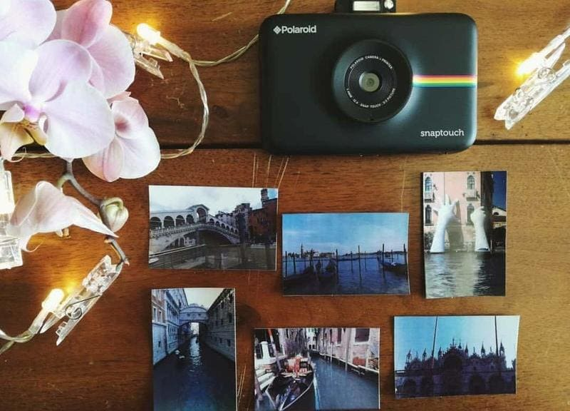 camara instantanea digital polaroid snap touch papel