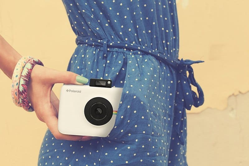Cámara compacta Polaroid Snap touch mini impresora de bolsillo