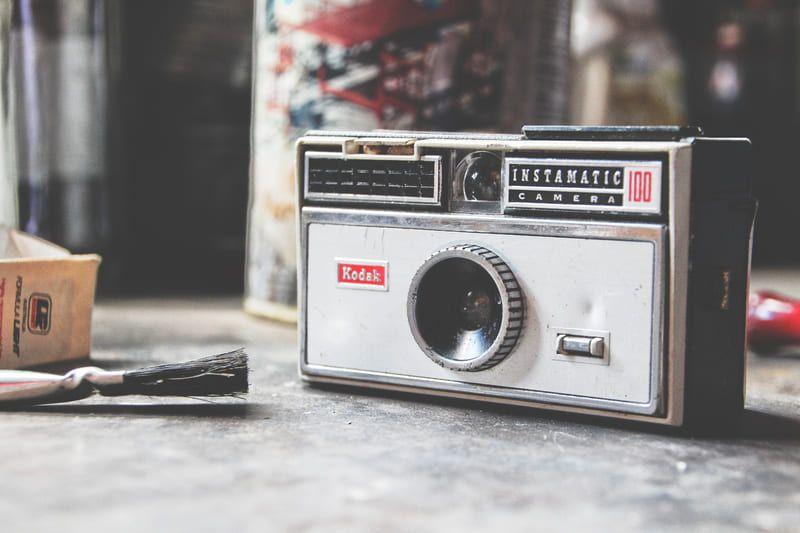 Kodak Instamatic 100 cámara instantánea
