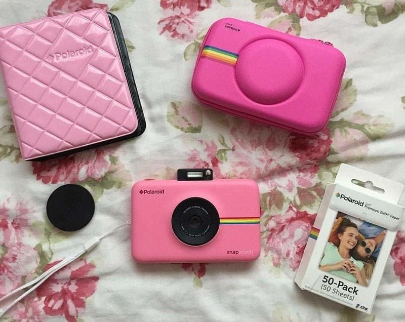 Polaroid Snap Touch no enciende con funda y album