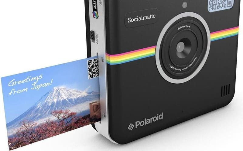 camara que imprime fotos